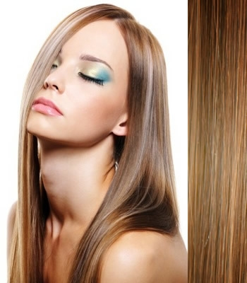 clip in hair extensions 18 45cm straight color 8 ash