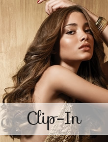 Clip in Hair Extensions - straight - Online Store