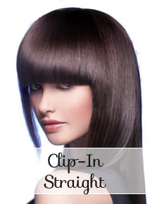 Hair Bangs & Fringe clip in straight - Online Store