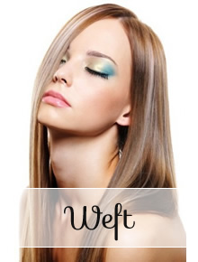Weft Hair Extensions - straight - Online Store